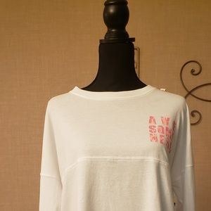 Xersion Long Sleeve Plus Size Casual Graphic Top
